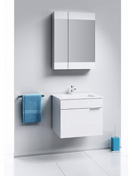 Шкаф-зеркало Бриг, белый,, Br.04.06/W, AQWELLA