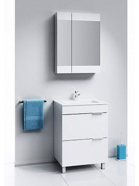 Шкаф-зеркало Бриг, белый,, Br.04.07/W, AQWELLA