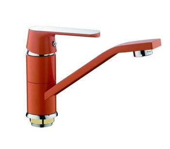 F4532 Смеситель для кухни, оранжевый FRAP