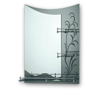 F688 Зеркало с полкой и рисунком 800*600 FRAP