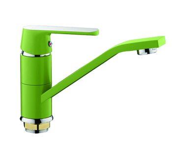 F4533 Смеситель для кухни, зеленый FRAP