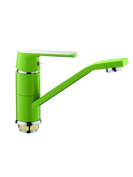F4533 Смеситель для кухни, зеленый