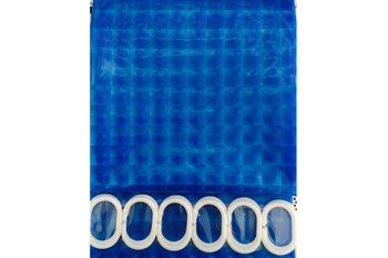 F8752 Штора для ванной 3D Peva/Полиэтилен 180cm*200cm голубой FRAP