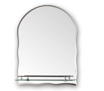 F689 Зеркало с полкой 600х450 FRAP