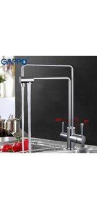G4398-5 Смеситель для кухни с фильтром д/питьевой воды, GAPPO