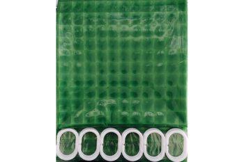 F8753 Штора для ванной 3D Peva/Полиэтилен 180cm*200cm светло-зелёный FRAP