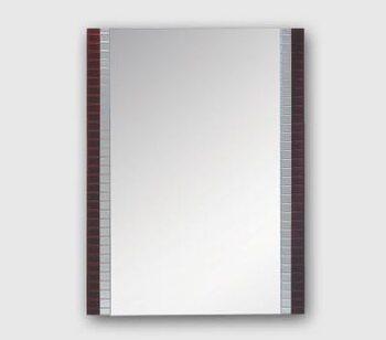 F691 зеркало 650*550, коричневый FRAP