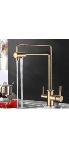 G4398-6 Смеситель для кухни с фильтром д/питьевой воды, бронза GAPPO