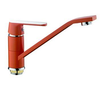 F4932 Смеситель для кухни, оранжевый FRAP