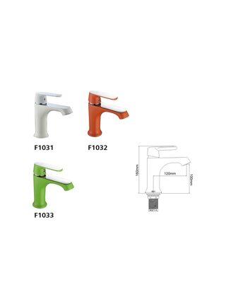 F1031 Смеситель для раковины, белый/хром FRAP