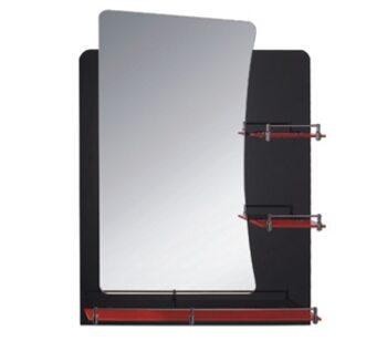 F678 зеркало с полкой 800х600 FRAP