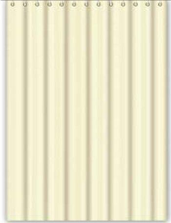 F8602 Штора для ванной Текстиль/Полиэстер 180cm*180cm бежевый FRAP