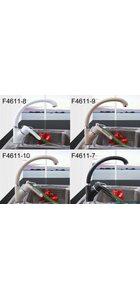 F4166-8 Смеситель для кухни, белый FRAP