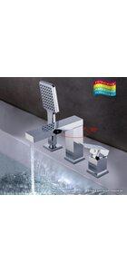 G1139 Смеситель для ванной врезной на 3 отверстия GAPPO