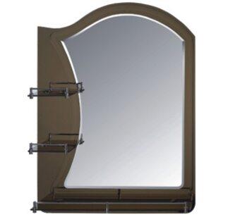 F681 зеркало с полкой 600*800 FRAP