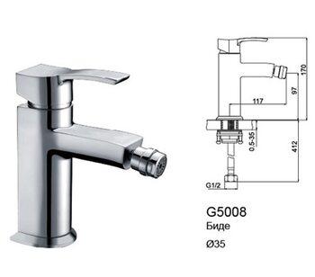 G5008 Смеситель для биде GAPPO