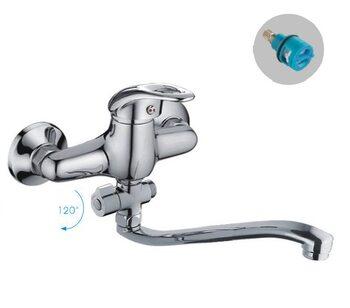 F2103 Смеситель для ванны однорычажный FRAP