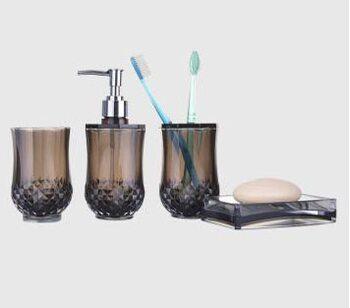 F303-2 набор аксессуаров для ванной комнаты. коричневый FRAP