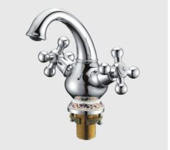 G1065 Смеситель для раковины, рисунок/керамика GAPPO