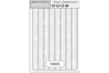 F8805 Штора для ванной Peva/Полиэтилен 180cm*180cm рисунок FRAP