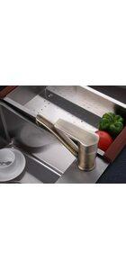 F4530-4 Смеситель для кухни, бронза FRAP