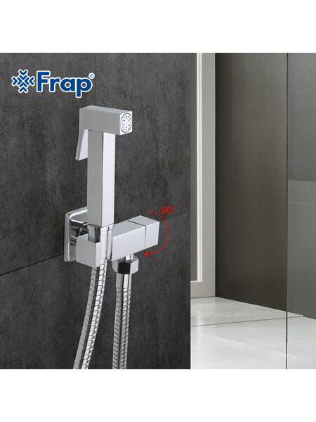 F7502 Смеситель с гигиеническим душем FRAP (моно)