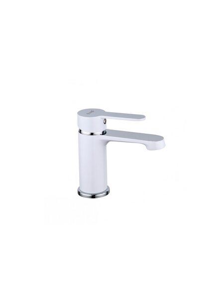 F1041 Смеситель для раковины, белый/хром FRAP
