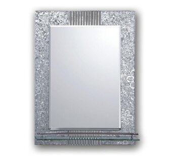 F656 Зеркало с полкой и рисунком 450*600 FRAP