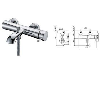 G3009 Смеситель для ванны GAPPO