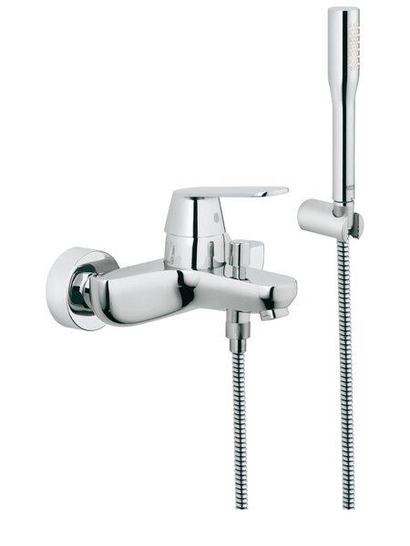 Смеситель для ванны GROHE Eurosmart Cosmopolitan с душевым гарнитуром, хром (32832000)