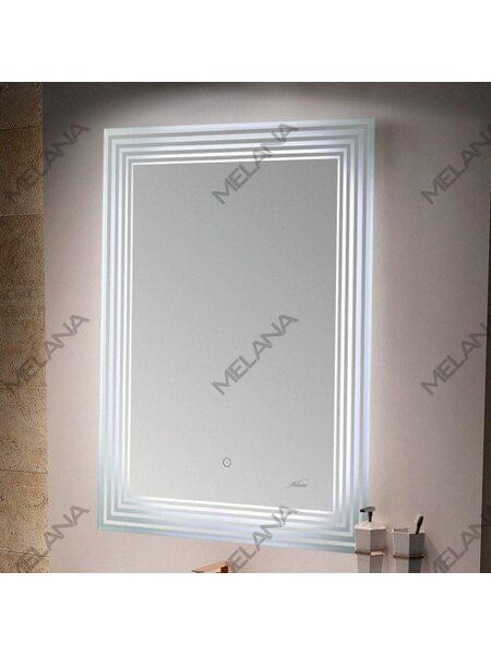 Зеркало с LED-подсветкой MELANA-6080 (MLN-LED051)