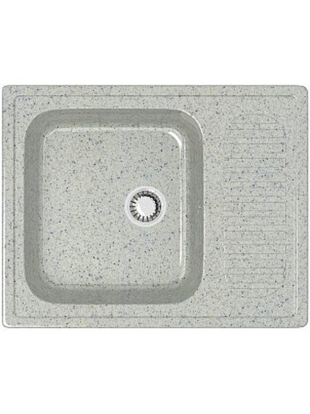 Мойка прямоугольная (647х497х195) Арлин Z15Q10 (светло серый)