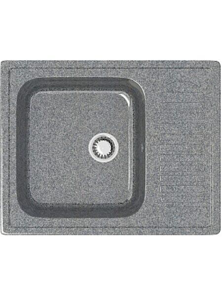 Мойка прямоугольная (647х497х195) Арлин Z15Q8 (темно серый)