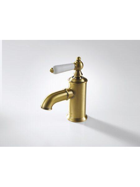 ART Смеситель для раковины без донного клапана, бронза Bravat F175109U