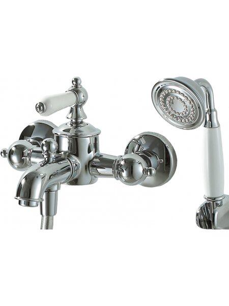 Смеситель ART  для ванны и душа с коротким изливом Bravat