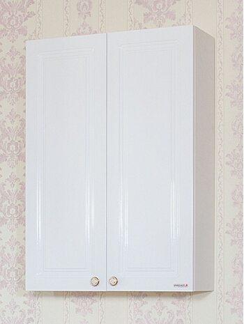 Шкаф навесной Анна 65 белый глянец