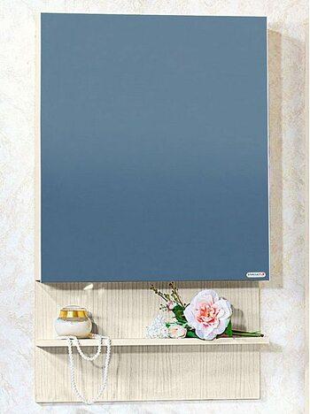 Шкаф-зеркало КАРИБЫ 60 светлая лиственница