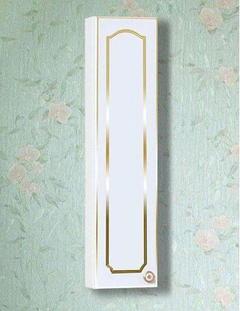 Шкаф навесной Лючия 20 белый глянец/золото