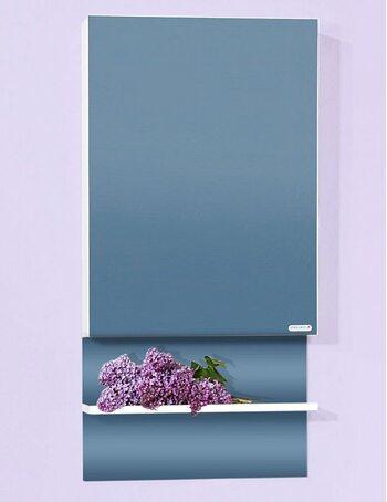 Шкаф-зеркало АРГЕНТИНА 50 белый