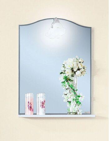 Зеркало ЛЮЧИЯ 58 белый глянец