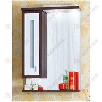 Шкаф-зеркало БАЛИ 75 L венге/белый глянец