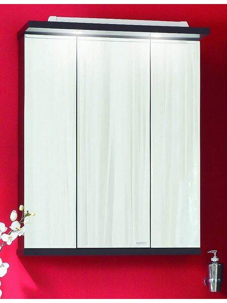 Зеркало - шкаф (трюмо) БАЛИ/ФИДЖИ 75 венге/белый глянец