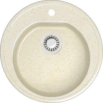 Мойка круглая (513х513х191) Черая Z3Q2 (бежевый)