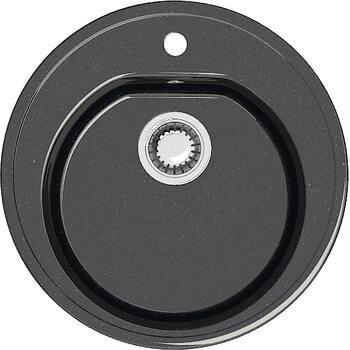 Мойка круглая (513х513х191) Черая Z3Q4(черный)