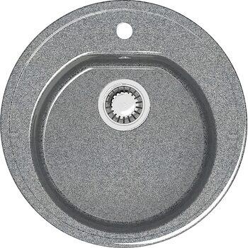 Мойка круглая (513х513х191) Черая Z3Q8 (темно серый)