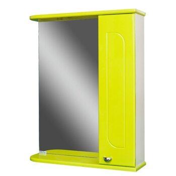 Шкаф-зеркало Радуга Лайм 55 правый АЙСБЕРГ