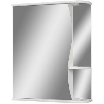 Шкаф-зеркало Волна 1-60 левый АЙСБЕРГ
