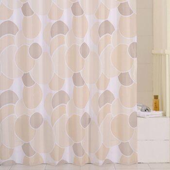 Штора для ванной комнаты, 200*240 см, полиэстер, ID. cream balls,230P24RI11