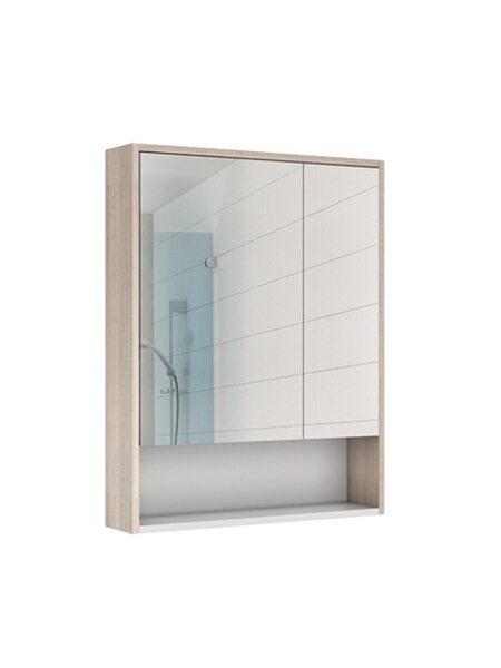 Шкаф-зеркало Prime 70 Дуб сонома Домино