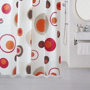 Штора для ванной комнаты, 180*180 см, PEVA, Lovely Phantom, Milardo, 503V180M11